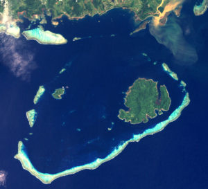 Beqa Lagoon contains six islands